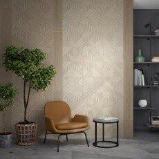 14031R Kerama Marazzi Milano Ламбро серый светлый структура обрезной 40×120