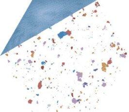 Stracciatella Blue Natural керамогранит Aparici 25×29