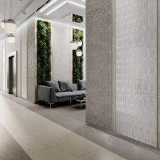 12152R Kerama Marazzi Milano Безана серый структура обрезной 25×75