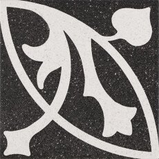 Deco Erte Negro керамогранит Pamesa 22.3×22.3