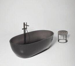 Ванна AntonioLupi «Reflex» 167*86*53, цвет Fume (Cristalmood)