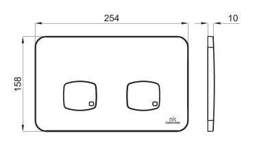 100173680 Noken Concept клавиша белая