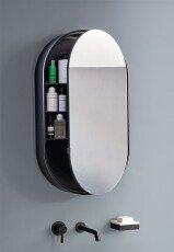 Зеркальный шкаф Catino Ovale